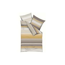 Bettwäsche Faible Satin in mais, 135 x 200 cm