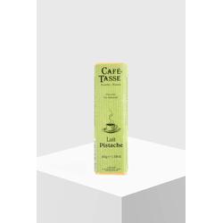 Café Tasse Schokoladenriegel Vollmilch mit Pistazie