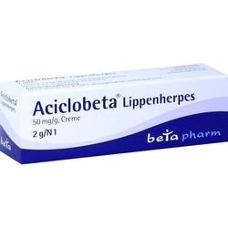 Aciclobeta Lippenherpes Creme