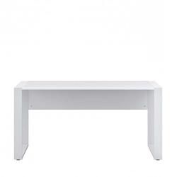 Computer Schreibtisch in Weiß 150 cm