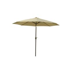 Raburg Sonnenschirm SUNNY EASY+ in VANILLE - XXL Gartenschirm neigbar mit Sonnenschutz UV50+, 3 x 3 m - Stoff 160g/m2 - Gewicht: 4 kg