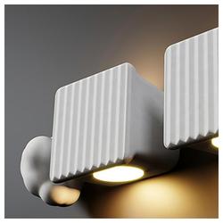 Karman Wandleuchte Binarell LED Weiß Matt