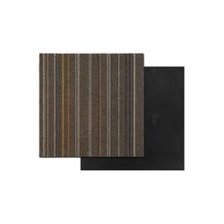 Teppichfliese Krakau, Kubus, quadratisch, Höhe 6 mm braun