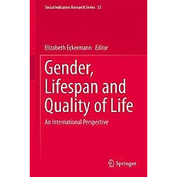 Gender  Lifespan and Quality of Life - Buch