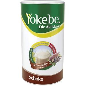 Yokebe. Die Aktivkost - Schoko - Diätshake zur Gewichtsabnahme - glutenfrei, laktosefrei und vegetarisch - Kalorienarmer Diät-Drink mit Proteinen - 500 g = 10 Portionen