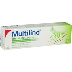 MULTILIND Heilsalbe m.Nystatin u.Zinkoxid 25 g