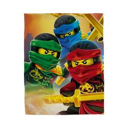 Kinderdecke Fleecedecke, LEGO Ninjago, 100 x 150 cm, Character World