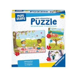 Ravensburger Steckpuzzle ministeps® Mein allererstes Puzzle: Jahreszeiten, Puzzleteile