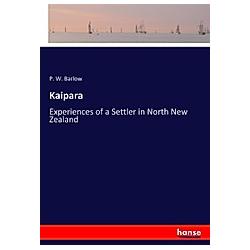 Kaipara. P. W. Barlow  - Buch