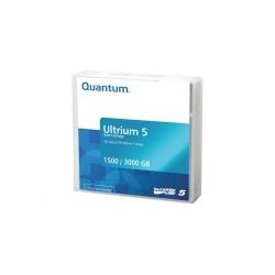 Quantum LTO Ultrium 5 1.5 TB / 3 mit Strichcodeetikett (MR-L5MQN-01)