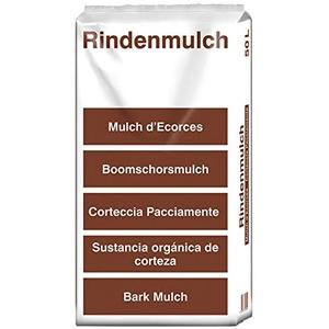(15 Cent/Liter) 100 Liter terrasan Rindenmulch 0 - 40mm Qualität aus Schwaben Garten-Mulch