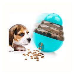 kueatily Tierball Therapieball, interaktiver Futterspender, Hundespielzeug, lustiger und interaktiver Hundesnackspender, Becher, Tierfutterspender pet
