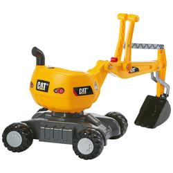 Rolly Toys Spielzeug-Aufsitzbagger Digger CAT, BxLxH: 43x102x74 cm gelb Kinder Sandkiste Sandspielzeug Outdoor-Spielzeug