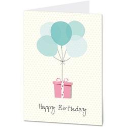 1 LUMA Geburtstagskarte Happy Birthday DIN B6