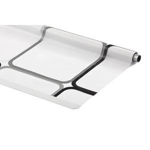 ERSATZROLLE HALB-KASSETTEN DUSCHROLLO QUADRO DESIGN 60x240 cm EINFACHER WECHSEL