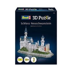 Revell® 3D-Puzzle 3D-Puzzle Schloss Neuschwanstein, 121 Teile, Puzzleteile
