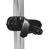 SAMAX Kupplung für Lastenanhänger / Fahrradanhänger 60 Kg / 70 Liter - in Schwarz