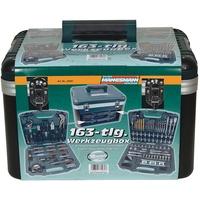 Brüder Mannesmann Werkzeuge Werkzeugbox 163-tlg.