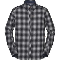 Norrona - Tamok Wool Shirt M Dark Grey - Hemden - Größe: XL