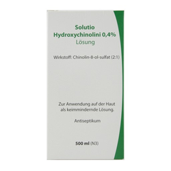 SOLUTIO HYDROXYCHIN. 0,4% 500 ml