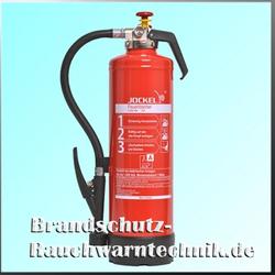 Jockel Feuerlöscher Gel-Löscher - G 6 SDJ Gel (mit Schlagkopffunktion)