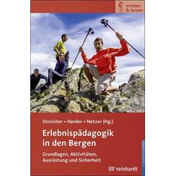 Erlebnispädagogik in den Bergen als Buch von