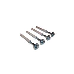 Schrauben/Dübel Set M10 4x Schrauben 10/70mm + 4x Dübel