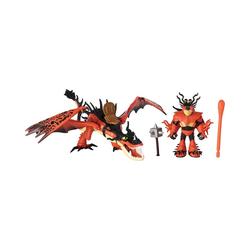 Spin Master Sammelfigur Dragon & Viking - Rotzbakke & Hakenzahn