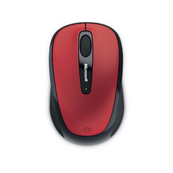 Microsoft Wireless Mobile Mouse 3500 Rot
