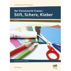 Der Feinmotorik-Trainer: Stift, Schere, Kleber