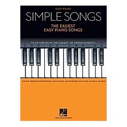 Simple Songs: The Easiest Easy Piano Songs - Buch