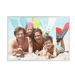PAPERFLOW Bilderrahmen silber 42,7 x 30,4 cm