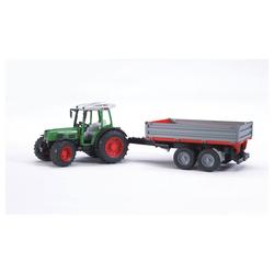 Bruder® Spielzeug-Traktor Fendt 209 S mit Bordwandanhänger