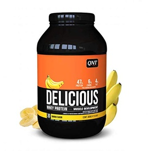 Qnt Delicious Whey Protein (908g) Banana 1er PackOhne Pfand(1 x 908 grams)