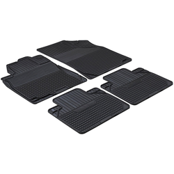 WALSER Set: Autogummimatte Easyfit , 4-tlg., Gr. 2 schwarz