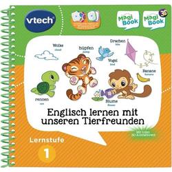 VTech Lernstufe 1-Englisch lernen Tierfreunde