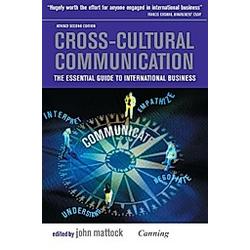 Cross-Cultural Communication. John Mattock  - Buch