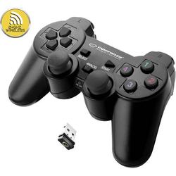 Esperanza Gladiator Gamepad PC, PlayStation 3 Schwarz