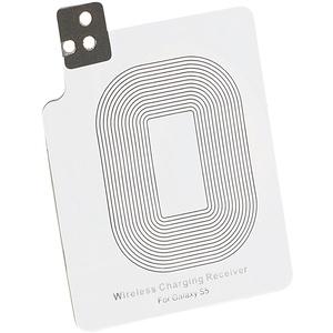 Callstel Qi Induktions-Ladegerät: Qi-kompatibles Receiver-Pad für Samsung Galaxy S5 (Receiver-Pad für Qi-Ladegerät)