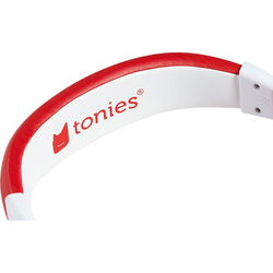 tonies Tonie Kinderkopfhörer - Lauscher, grün Kinder-Kopfhörer rot