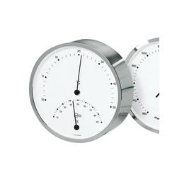 Barigo Thermo- Hygrometer silber Innenwetterstation