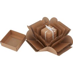 VBS Kraftpapier Geschenkbox, 14 Teile