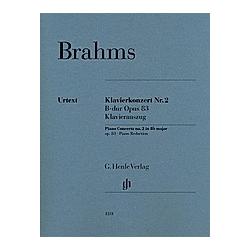 Klavierkonzert Nr. 2 B-dur op. 83  Klavierauszug. Johannes - Klavierkonzert Nr. 2 B-dur op. 83 Brahms  - Buch