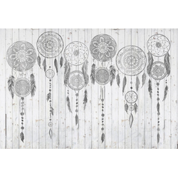 Architects Paper Fototapete Atelier 47 Grey Dream, glatt, orientalisch, (4 St)