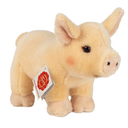 Teddy HERMANN® Schwein stehend 20 cm