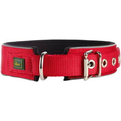 Halsband Neopren Reflect rot/schwarz 50