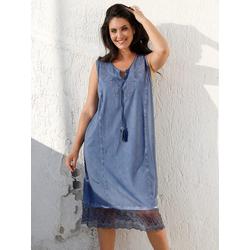 Kleid MIAMODA Jeansblau