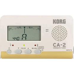 KORG CA2 Gitarrenstimmgerät Weiß