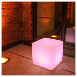 Moree Stehlampe Cube Outdoor LED