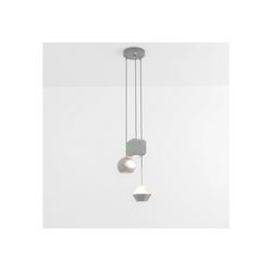 Licht-Erlebnisse Pendelleuchte GEOMETRIC Moderne Hängeleuchte Esstisch minimalistisch geometrisch Pendelleuchte Lampe